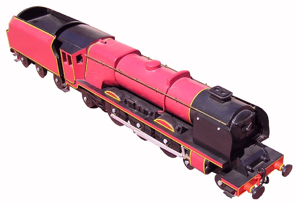 Photo of Duchess Class steam engine model