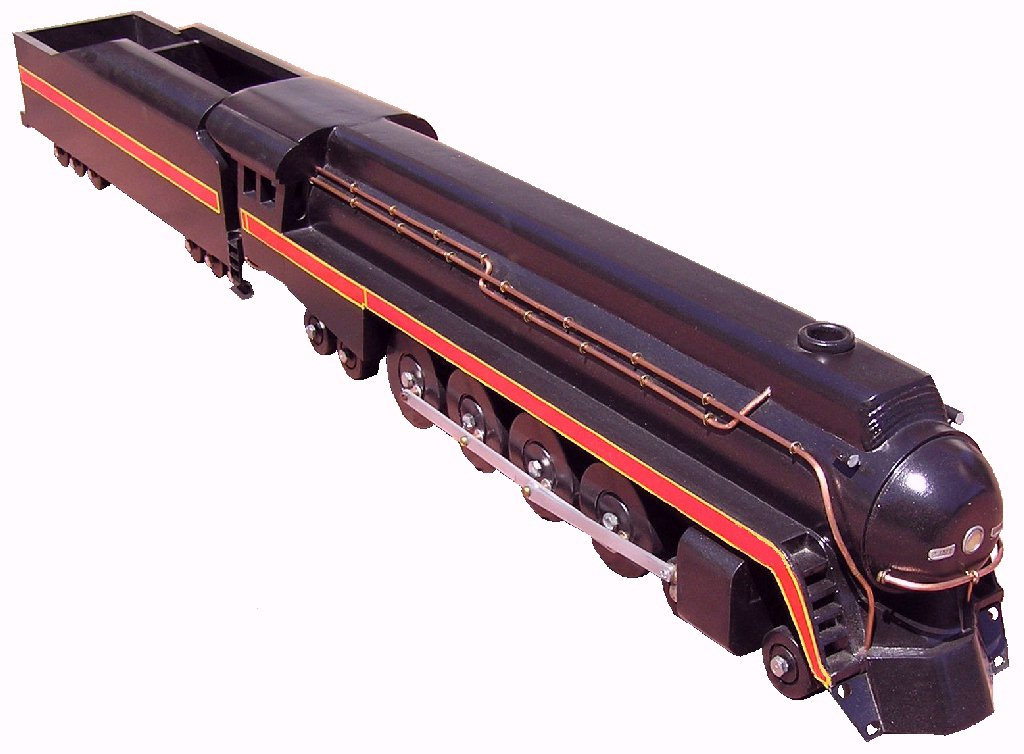 Photo of Class J steam engine model