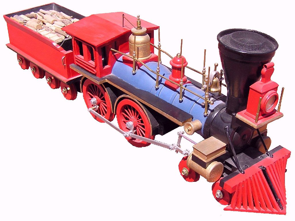 Photo of Jupiter steam engine model