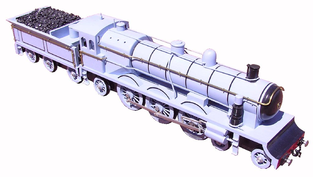 Photo of 4500 series steam engine model